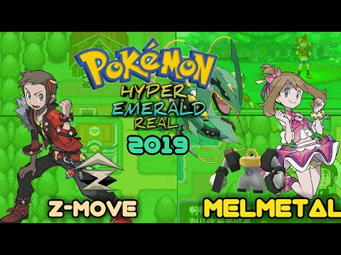 Pokemon Hyper Emerald Real V3 0 2019 : A GBA ROM Hack with Z Move and 809  Pokémons!