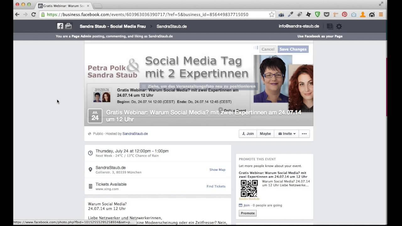 Facebook Einladen