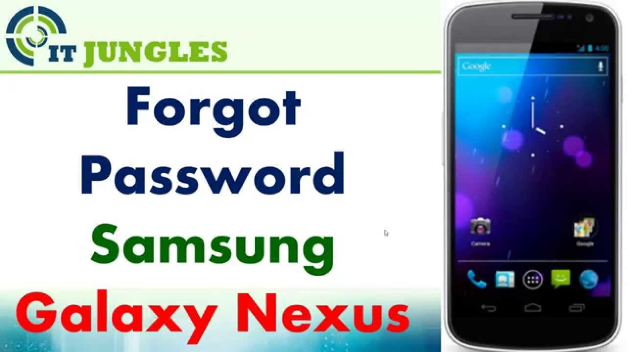 how to change password on samsung