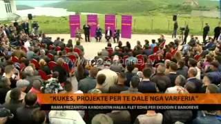 Rama shpërndan leje legalizimi në Kukës - Top Channel Albania - News - Lajme