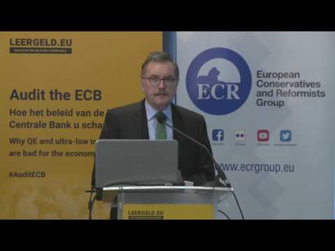 Prof. Dr. Jürgen Stark: The Consequences of QE and Negative Interest Rate Policy (NIRP)