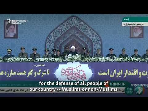 Iran's Rohani Vows Stronger Missile Capabilities