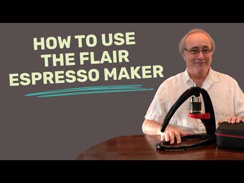 The Flair Espresso Maker Brew Guide