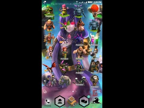 How to download clash of clans theme?? Best one try it.