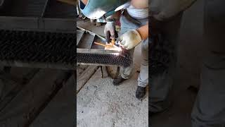 Take titanium wire in welding