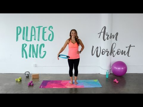 Pilate Ring Arm Workout | Arm Exercises using the Pilates Ring