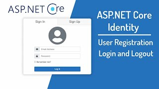 ASP.NET Core MVC Login and Registration using Identity