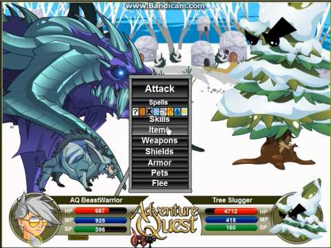 AQ - New Horn Of Tera Suul (The Strongest Ice Weapon!) 2013