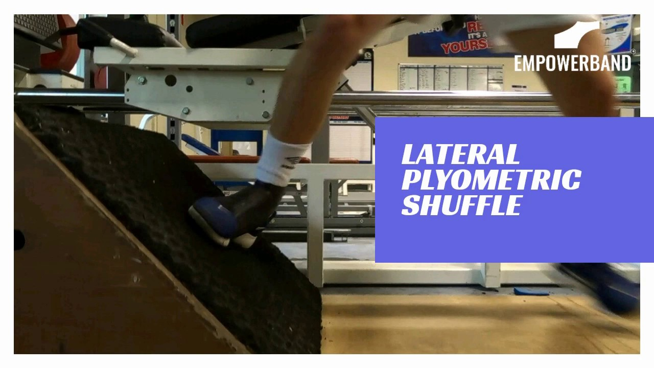 Ankle Strengthening & Rehabilitation Exercise For Football Players;  Plyometric Lateral Jump