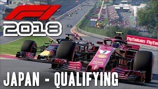 F1 2018 Online w/ Beef & Cone [29] Japan Qualifying