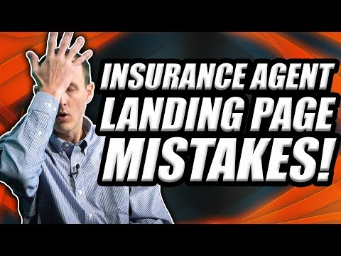 Insurance Agent Landing Page Mistakes! [ClickFunnels Vs. WordPress]