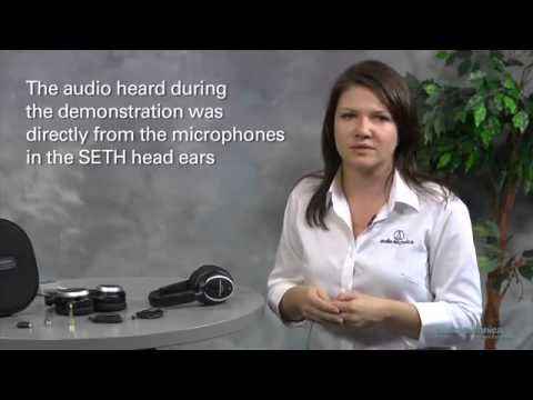 ATH ANC7b QuietPoint® Active Noise Cancelling Headphones Demonstration Audio-Technica  - Exosound