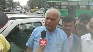 "Guest news anchor for 1st time for d cause ""Ranga Bhoomi ulisi Ranga Bhoomi belisi"""