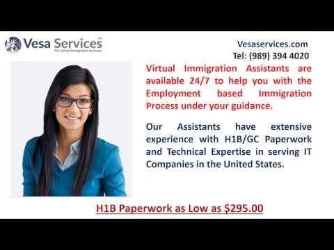 H1B Visa Process Fee $295.00 | H1B Forms | H1B Filing | H1B Assistant |