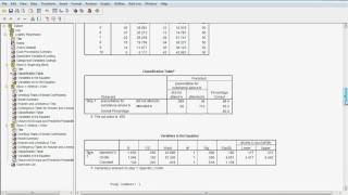 Part 2 logistic regression with spss.avi