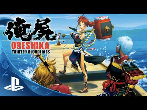 Oreshika: Tainted Bloodlines - Official Launch Trailer | PS Vita