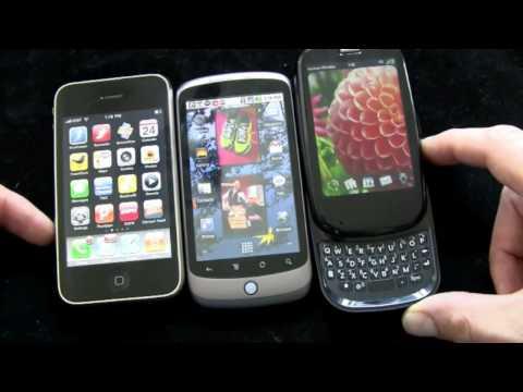 iPhone 3GS v Nexus One v Palm Pre Plus Part 1