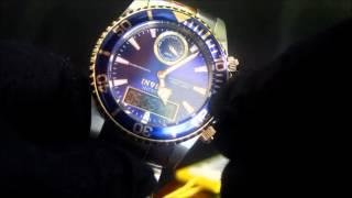 Invicta 12471 43mm Pro Diver Intrinsic Analog & Digital Watch