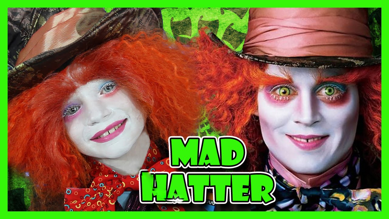 MAD HATTER MAKEUP TUTORIAL | We Are The Davises