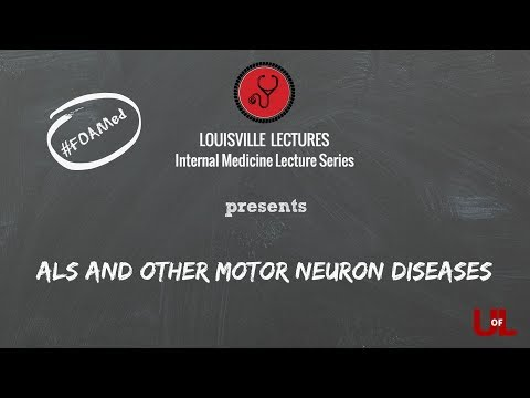 ALS AND OTHER MOTOR NEURON DISEASES WITH DR. MARTIN BROWN