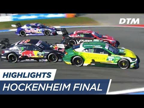 Highlights Race 1 - DTM Hockenheim Final 2017