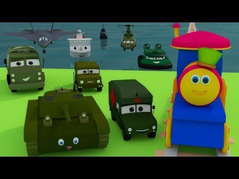 Военная база мультфильм