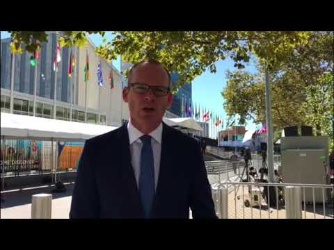 Message from the Irish Minister for Foreign Affairs, Simon Coveney