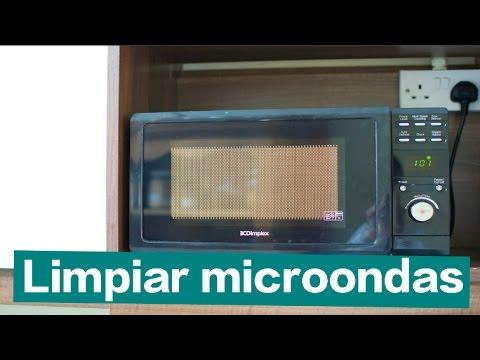C mo limpiar microondas r pido y f cil youtube - Como limpiar rapido ...