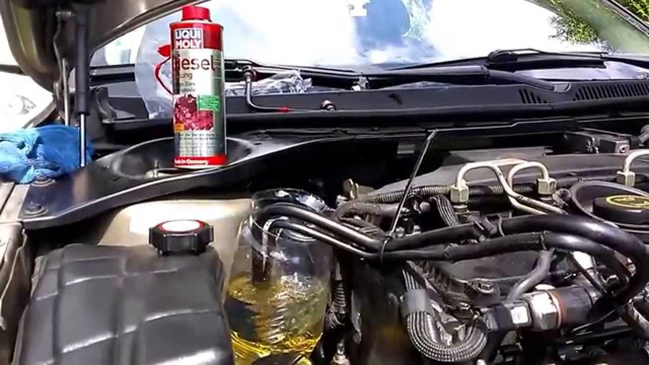 Ford Mondeo 2 0tdci 85kw Liqui Moly Diesel Spulung Youtube