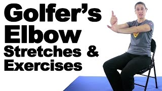 Golfer's Elbow Stretches & Exercises  Ask Doctor Jo