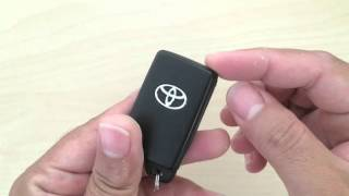 How to change Toyota wireless remote smart key