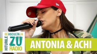 ANTONIA feat. Achi - Get Up And Dance (Live la Radio ZU)