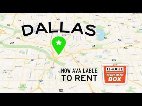 Plastic Moving Box Rentals | Dallas, TX | U-Haul Ready-To-Go Box