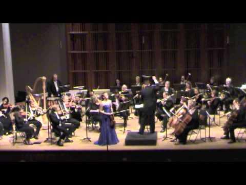 Chloé Trevor - Barber Violin Concerto I. Allegro