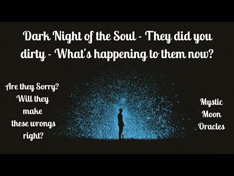 Dark Night Of The Soul - They Did You Dirty...What's Happening To Them Now?