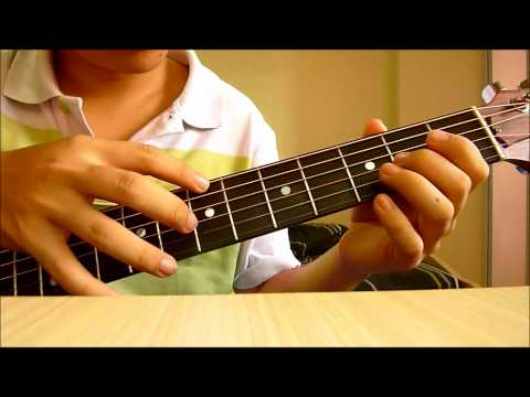PSY- Gangnam Style  Fingerstyle TUTORIAL by Amos PART 1 ~with chords~
