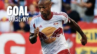 GOAL: Thierry Henry calmly tucks one inside the post | Real Salt Lake vs New York Red Bulls