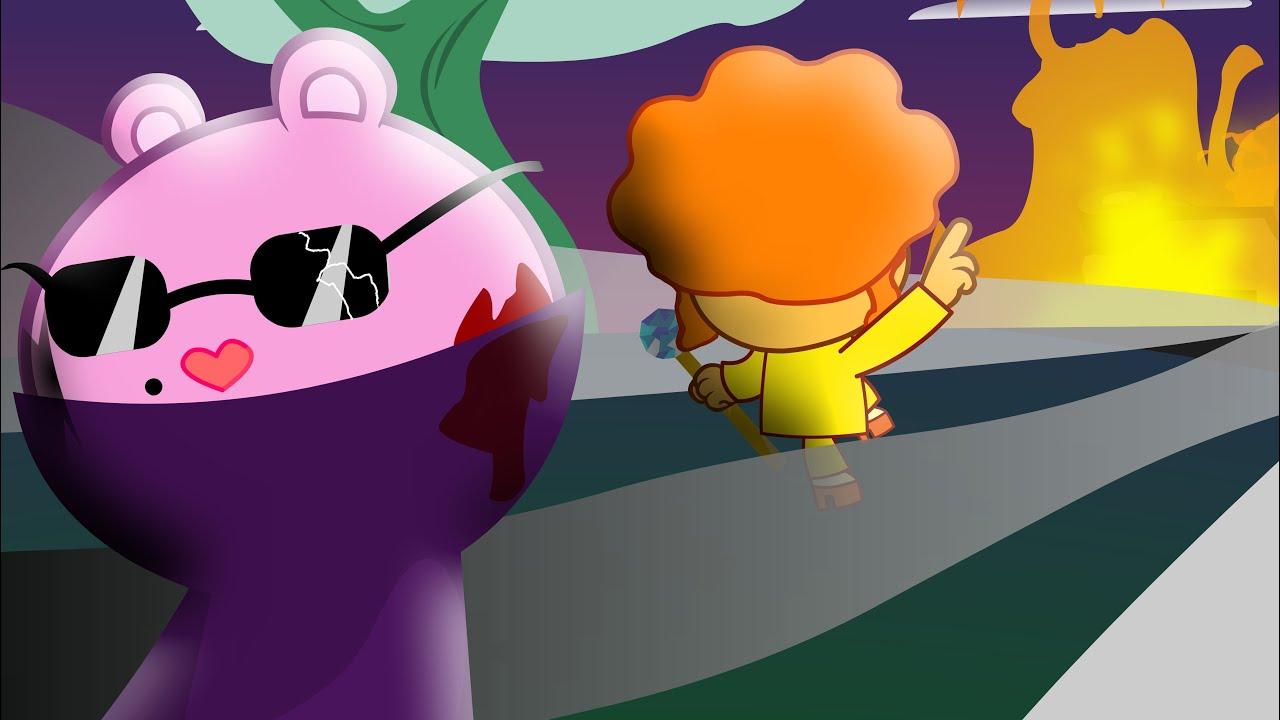 """""""DESTINY"""" mole VS disco bear - Happy tree friends (AMNESIA 4.5) Animation"""