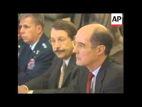 RUSSIA: STROBE TALBOTT/VIKTOR IVANOV KOSOVO MEETING (2)