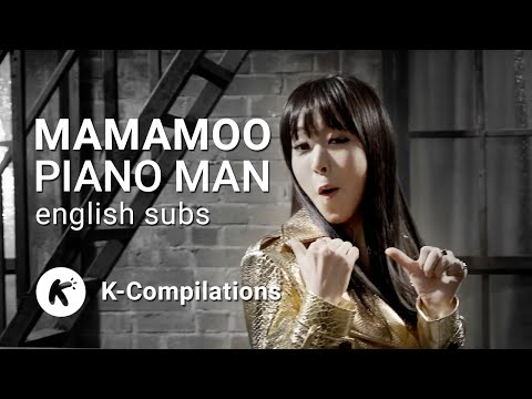 [ENGSUBS] MAMAMOO - Adlibs of Piano Man (Live)