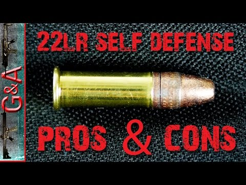 22lr for Self Defense? PROS & CONS