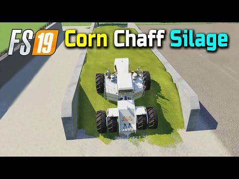 Making Over 4 Million Corn Chaff Silage, FS19 Nebraska Map