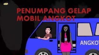 film kartun hantu | penumpang gelap sopir angkot |hantu wanita menakutkan | funny cartoon