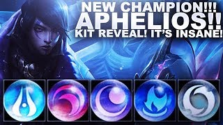 NEW CHAMPION IS HERE! APHELIOS! KIT REVEAL! | League of Legends