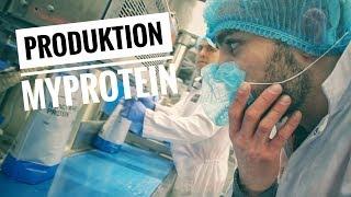 Myprotein Produktion, vom Rohstoff zum Proteinpulver - Goeerki Vlog