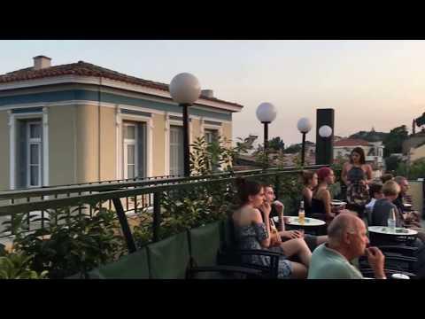 TOUR ATHENS// CINE PARIS CINEMA PLAKA // OUTDOOR CINEMA.