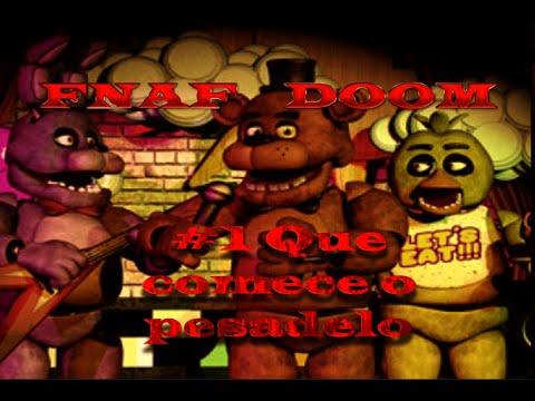 FNAF Doom #1 - Primeira noite e Pior emprego