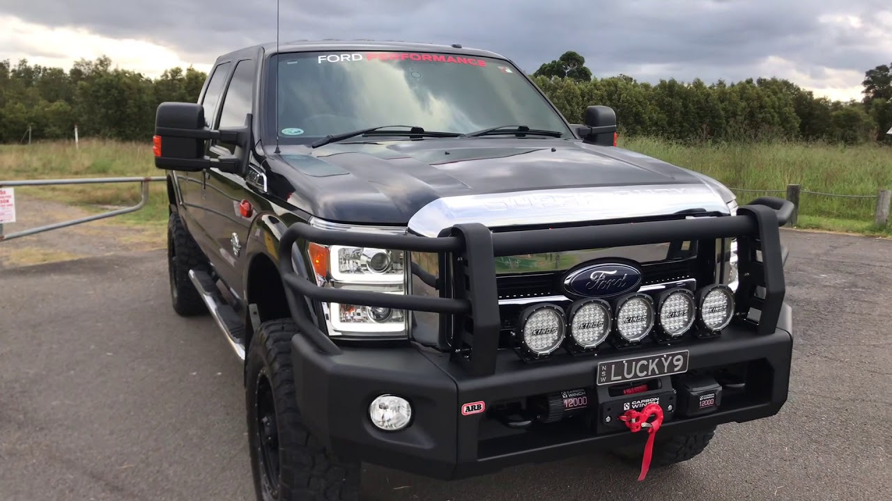 Ford F250 Build >> Ford F250 Overland Build