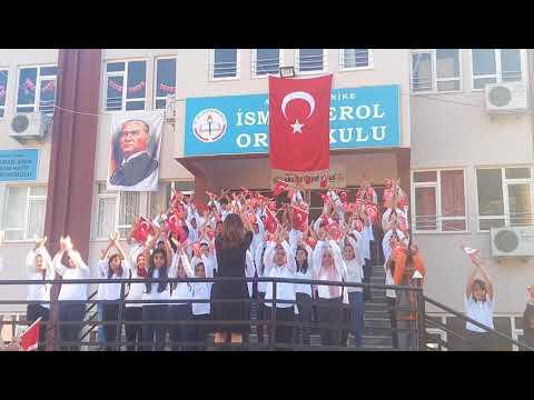 Antalya Finike İsmail Erol Ortaokulu Atatürk Çocukları Marşı