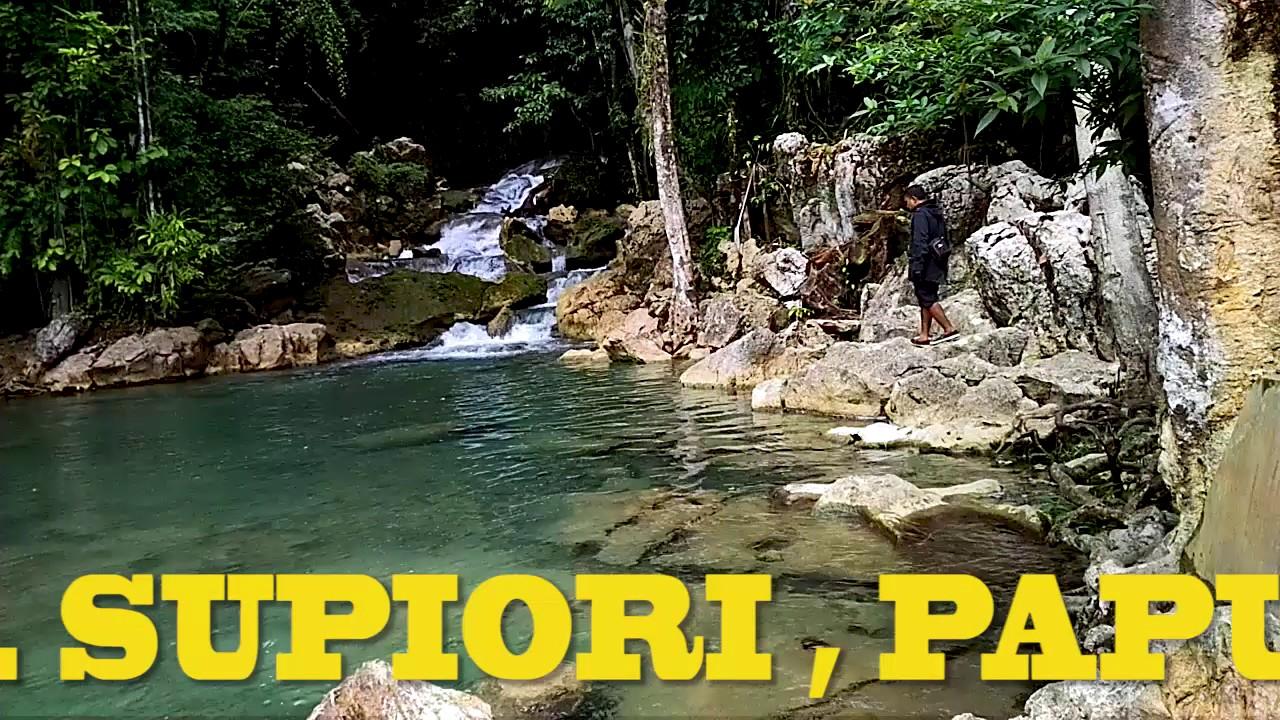 MAZRIV WATERFALL KORIDO, SUPIORI PAPUA   YouTube